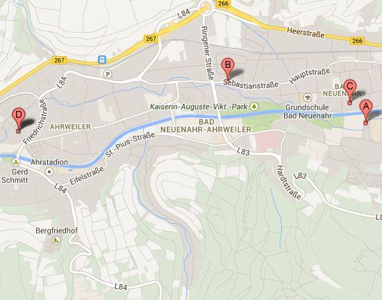 Bad Neuenahr Map
